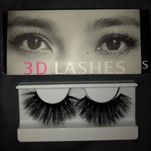 Mink Eyelashes With Case